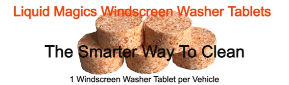 Liquid Magics Automotive Windscreen Washer Tablets