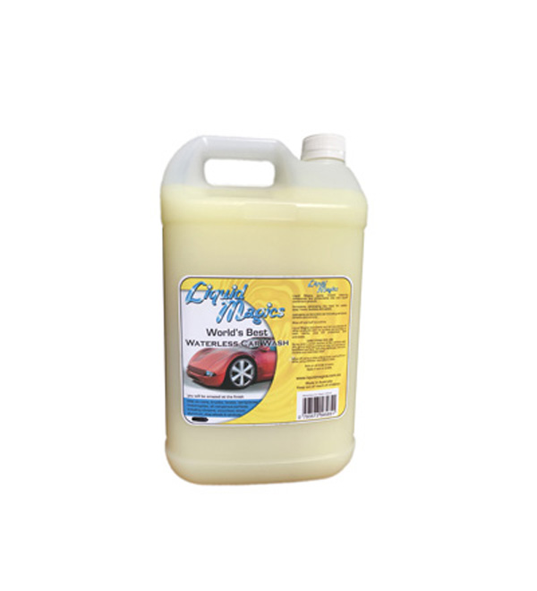 Liquid Magics Waterless Car Wash - 5 Litre